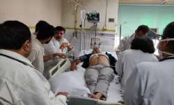 Sisodia was taken to the LNJP Hospital after the ketone