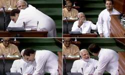In this combo of four photos is seen Congress President