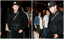 American singer Nick Jonas, who was in India to exchange