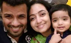 Balabhaskar with his family