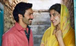 Varun Dhawan, Anushka Sharma work in textile factory in