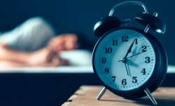 The study also tracked the duration of participants' sleep