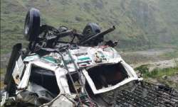 The accident happened at Snail, three kilometres from Kuddu