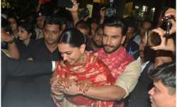 Ranveer Singh turns saviour for new bride Deepika Padukone,