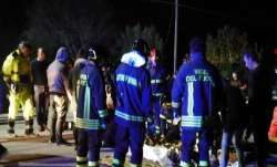 Six people have died and dozens have been injured in a