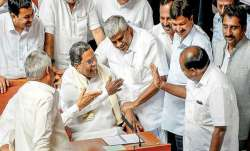 """The BJP alleged that the Congress MLAs """"feared for their"""