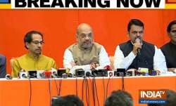 Maharashtra CM Devendra Fadnavis addresses press conference