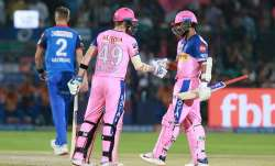Live IPL Cricket Score, RR vs DC, Match 40: Rahane-Smith