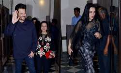 Anil Kapoor and Sunita Kapoor rang in their 35th wedding