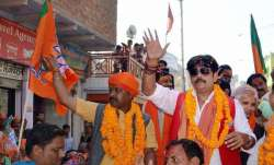 Bhojpuri actor and BJP candidate from Gorakhpur Ravi Kisan