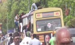 Bus day celebration in Chennai