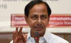 Telangana Chief Minister K. Chandrashekhar Rao