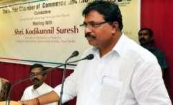 Congress MP from Kerala, Kodikunnil Suresh