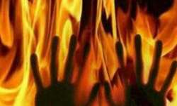 Man in Uttar Pradesh set ablaze after mistaken for thief