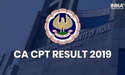 CA CPT Result 2019