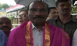 ISRO chairman K. Sivan
