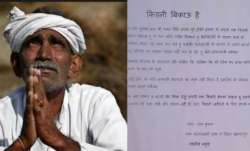 Kidney bikau hai: UP farmer puts kidney for sale after bank