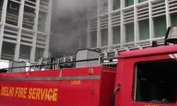 Fire near emergency ward at AIIMS hospital in Delhi