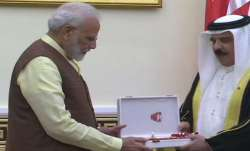 PM Modi conferred with The King Hamad Order of the