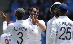Live Cricket Score, India vs West Indies, Day 2: Campbell