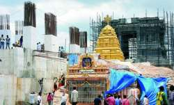 Telangana CM orders to complete Yadadri temple renovation