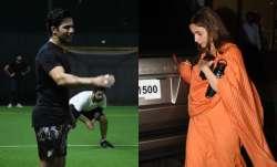 Varun Dhawan, Vicky Kaushal play cricket, Alia Bhatt
