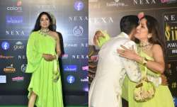 Neena Gupta attended IIFA 2019 wearing a green neon dress