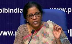 LIVE: Nirmala Sitharaman briefs media on Govt's crucial