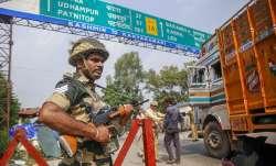 Curfew in Jammu and Kashmir (representational image)