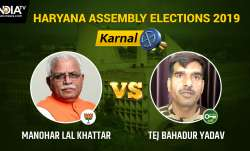 Karnal Constituency Result: Manohar Lal Khattar to be
