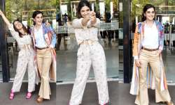 Taapsee Pannu and Bhumi Pednekar were spotted at promotions