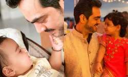 First photo of Esha Deol and husband Bharat Takhtani's daughter Miraya