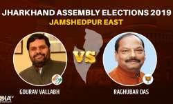 Jamshedpur East constituency: Gourav Vallabh (Cong)vs Raghubar das BJP
