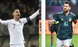 Despite scoring 99 international goals, Cristiano Ronaldo still losing the race to Lionel Messi