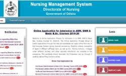 Odisha Basic BSc Nursing 2019 Second round seat allotment result