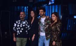 Kartik Aaryan, Bhumi Pednekar and Ananya Panday promote