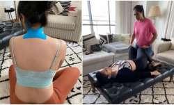 Parineeti Chopra undergoes physiotherapy session after injuring neck on Saina Nehwal biopic sets