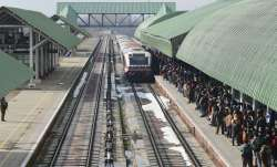 Train services in Kashmir resume after 3 months