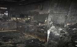 Delhi: Fire breaks out in four-storey building in Shalimar