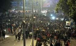 Protest at Hyderabad Urdu varsity against Jamia incidents