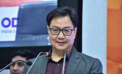 Sports Minister Kiren Rijiju