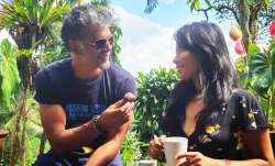 Milind Soman shared a throwback picture on his Instagram