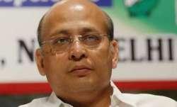 A file photo of senior Congress spokesperson Abhishek Manu