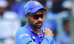 shikhar dhawan, shikhar dhawan injury, shikhar dhawan shoulder injury, shikhar dhawan out, shikhar d