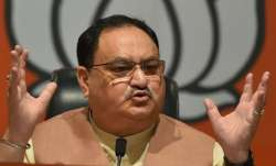 'Where's Jan Lokpal? Only arrogance': Nadda to Kejriwal