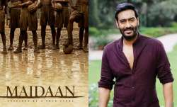 Ajay Devgn shares first teaser poster of Maidaan