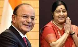 Sushma Swaraj, Arun Jaitley awarded Padma Vibhushan posthumously