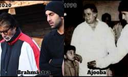 When Amitabh Bachchan met little Ranbir Kapoor on Ajooba sets