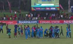 Two Indians and three Bangladesh players charged by ICC for unsavoury incidents after U-19 WC final
