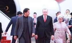 Pakistan PM Imran Khan receives Turkey's President Recep